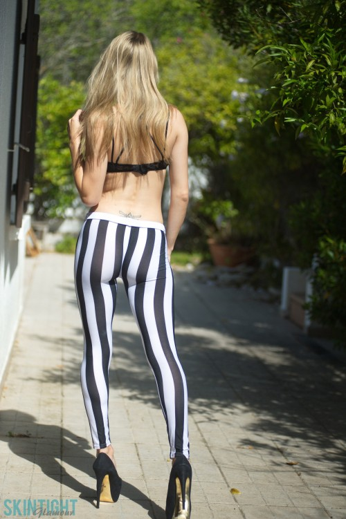 Chloe Toy Stripey Leggings