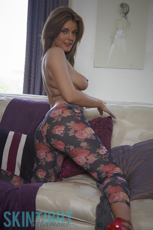 Kelly Mcgregor Flower Leggings - Picture 4