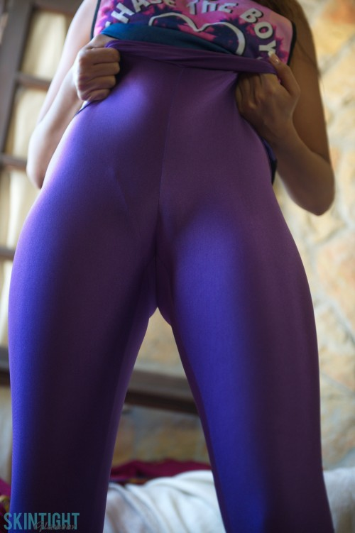 Rebecca Kelly Mauve Leggings